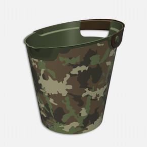 Camouflage Q-Bucket Kova 10 litre