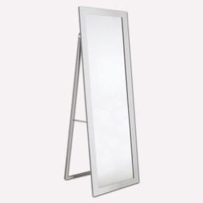 Dekoratif Ayaklı Ayna 50x150 cm Beyaz