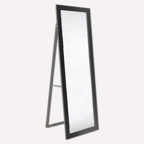 Dekoratif Ayaklı Ayna 50x150 cm Siyah