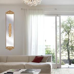 Dekoratif Nice Niş Ayna 23x100cm Altın