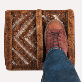 Desan 32x35 cm Ayakkabı Fırça Paspası