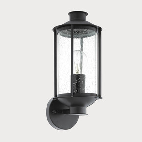 Eglo Mamurra Dış Aplik Siyah 1X60W E27