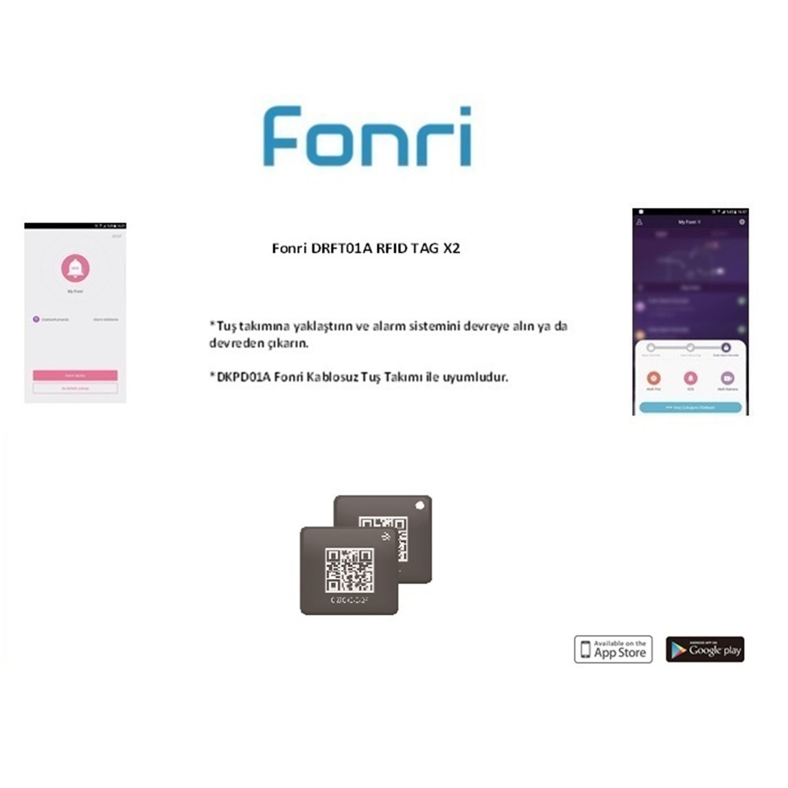 Fonri RFID Tag DRFT01A