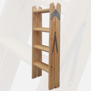 Ahşap Merdiven 4x2 Basamaklı