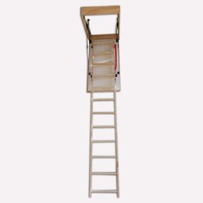 Ahşap Katlanır Çatı Merdiveni