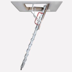 Metal Katlanır Çatı Merdiveni