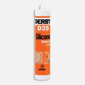 Derby D28 Genel Amaçlı Silikon Beyaz