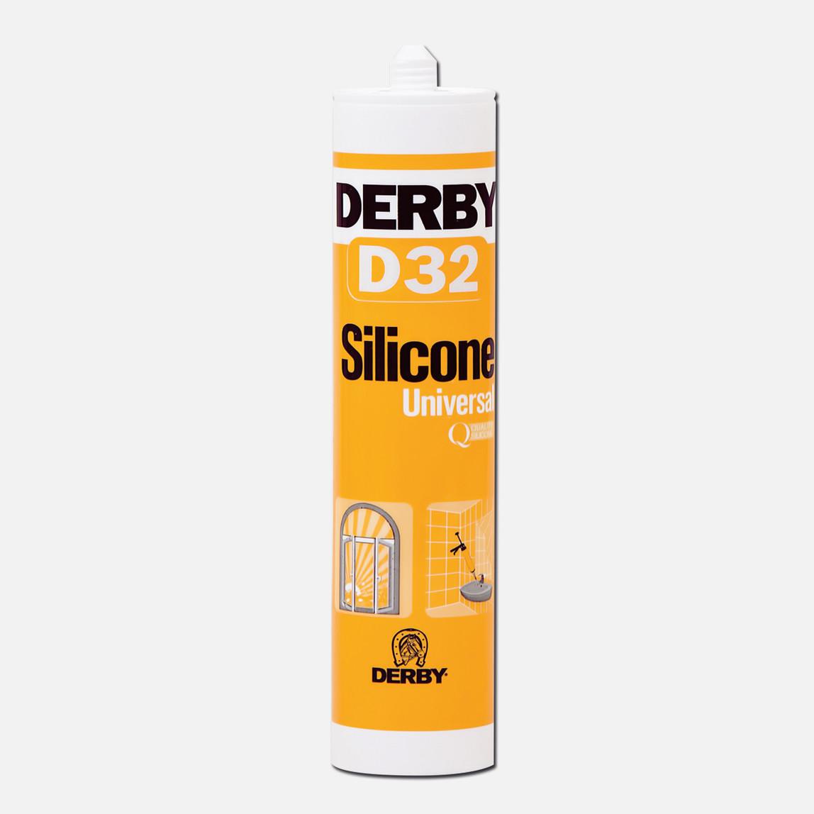 Derby D32 Genel Amaçlı Silikon Beyaz