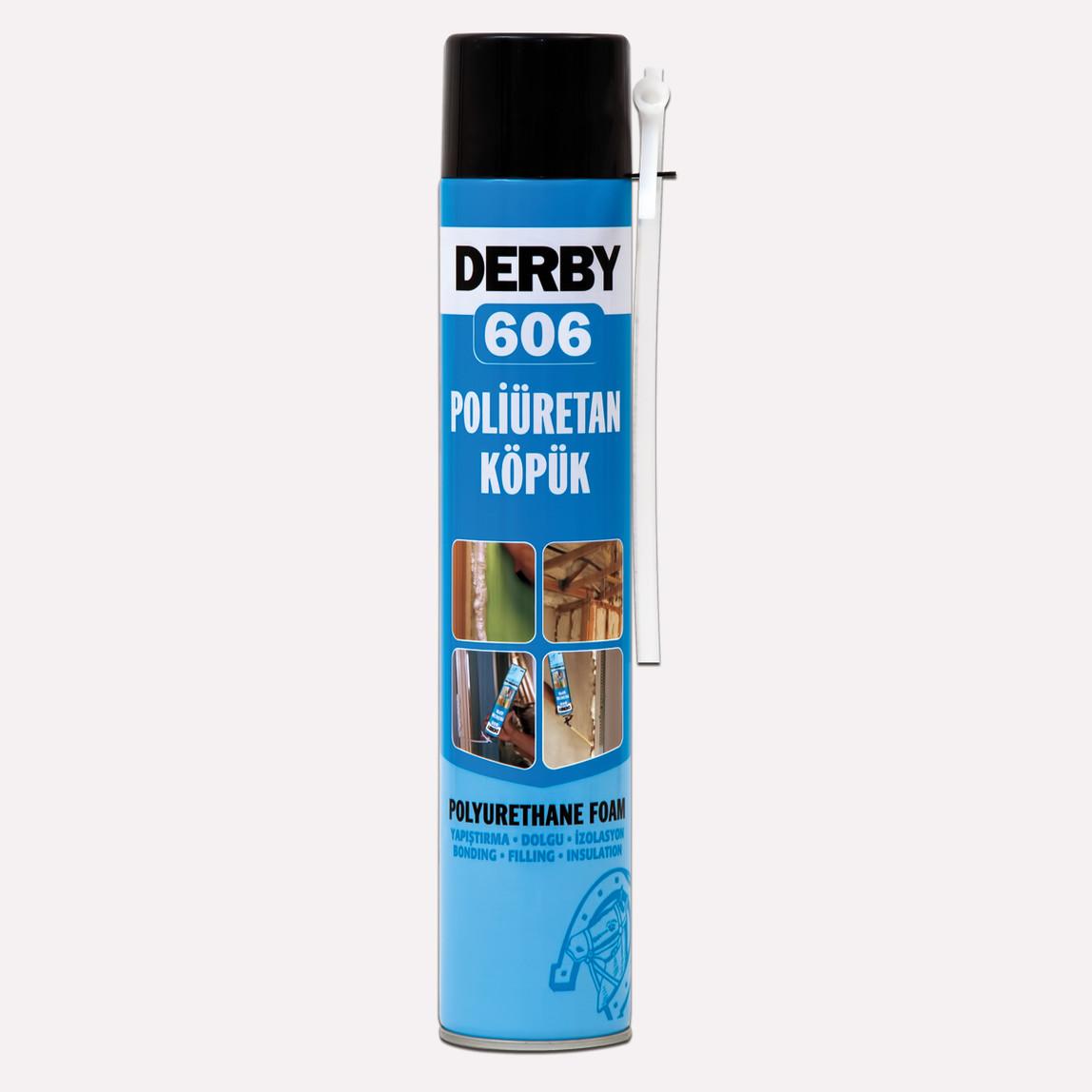 Derby 606 Poliüretan Köpük Sprey