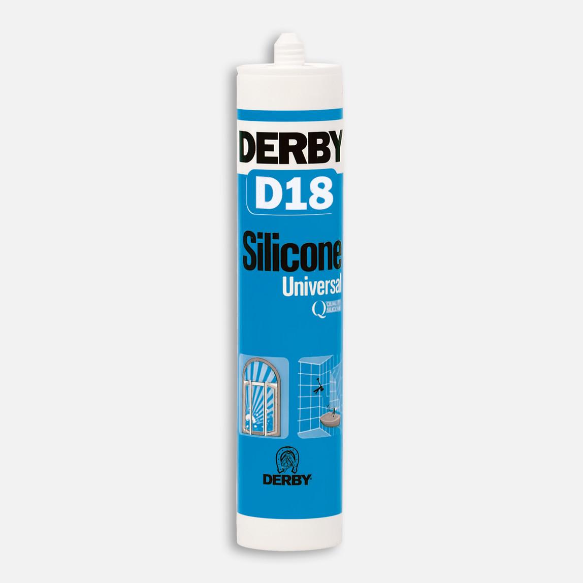 D18 Genel Amaçlı Silikon Beyaz