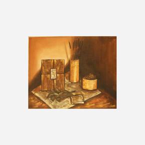 Promo Kasnaklı Yağlı Boya Resim 40x100 cm