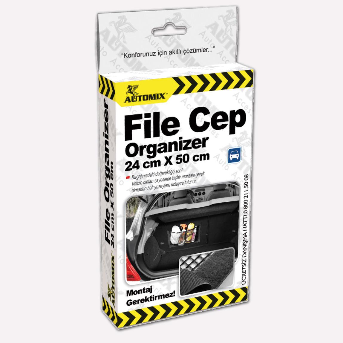 Automix File Cep Organizeri 24x50cm
