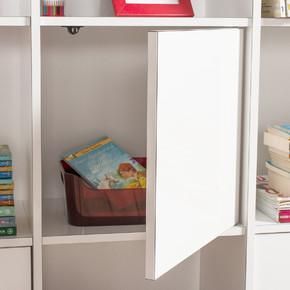 Biblo 3 Kapaklı Kare Kitaplık