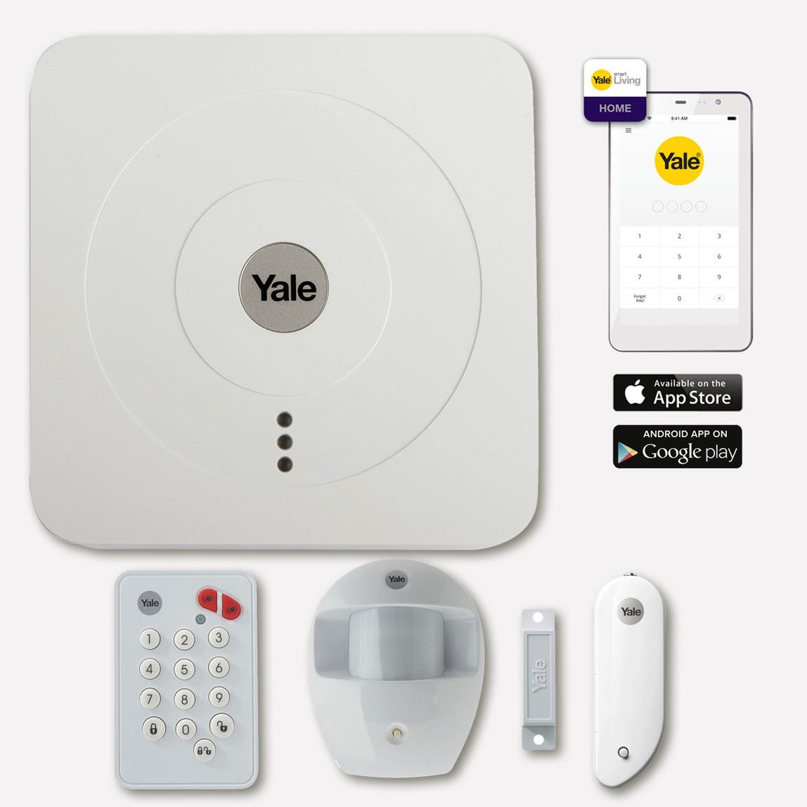 Yale SR2100i Smart Home Alarm Kiti
