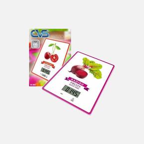 Dijital Mutfak Terazisi Meyve Desenli 3805