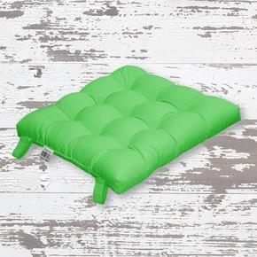 Rattan Sandalye Minderi Yeşil 43x43cm