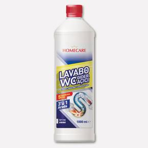 Homecare Lavabo-WC-Gider Açıcı 1000 ML