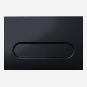 Capsule  Gömme Rezervuar Paneli Soft Siyah
