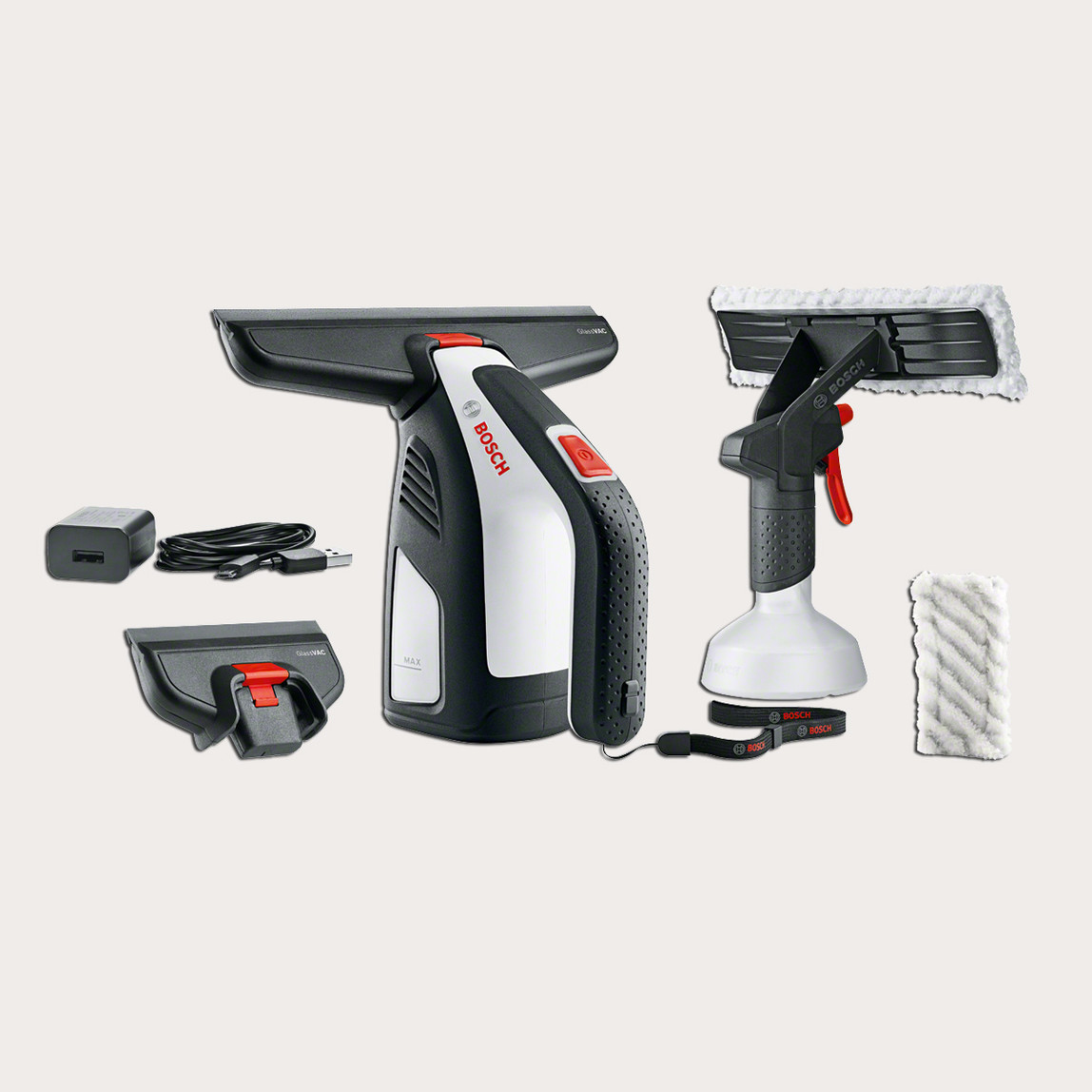 Bosch Glassvac 3,6V Cam Temizleyici
