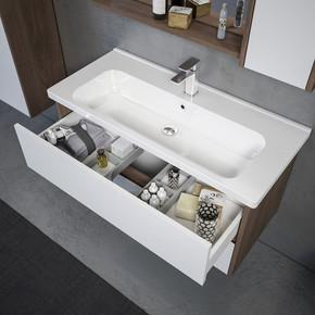 Padana 100 cm   Alt Anka Banyo Dolabı, Montaj Dahil