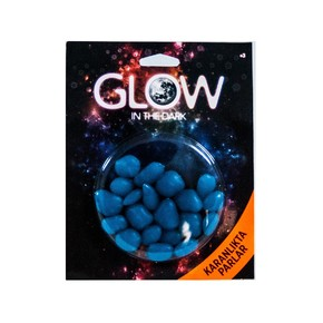 Fosforlu Tas Blister Paket Mavi