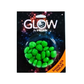 Fosforlu Tas Blister Paket Yeşil