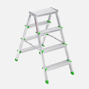Saraylı 4+4 Basamaklı Çift Taraflı Alüminyum Merdiven