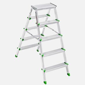 Saraylı 5+5 Basamaklı Çift Taraflı Alüminyum Merdiven