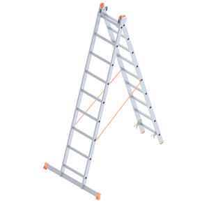 Saraylı 2X9 Basamaklı A Tipi İki Kademeli Endüstriyel Merdiven