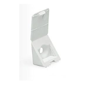 Plastik Raf Altı Kapaklı Beyaz 4 adet