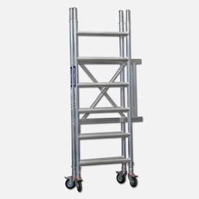 2,8 m. Aluminyum Katlanır İskele