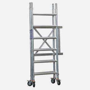 5,4 m. Aluminyum Katlanır İskele