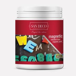 0,5Lt Sandeco Magnetic Mıknatıslı Duvar Boyası