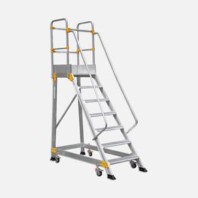 6+1 Basamaklı Endüstriyel Aluminyum Platform Ep 6