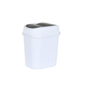Ck-770 Gördes Çöp Kovası 9,5 lt Beyaz