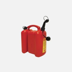 6L Benzin + 3L Yağ Bidonu Kırmızı