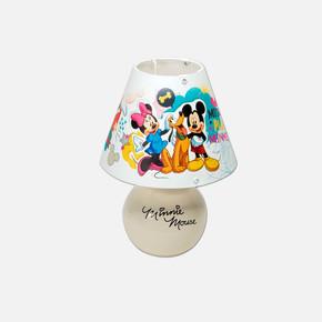 Minnie & Mickey Seramik Lisanslı Dekoratif Masa Lambası