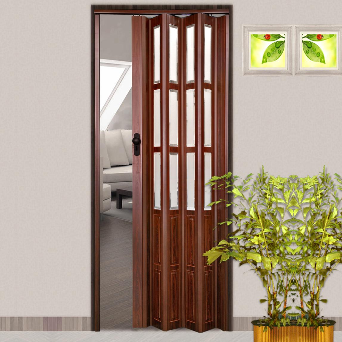 Camlı Akordiyon Kapı Venge