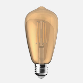 Ecolite Led Gold Filament ST64 Ampul
