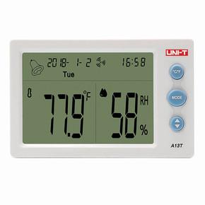 Unı-T SHEA13T Dijital Saatli Sıcaklık Ölçer