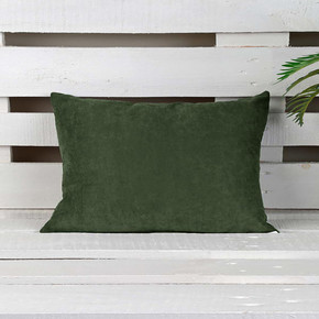 Sedef Süet Yastık Yeşil 45x45cm