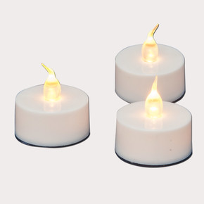 3'lü Led Tealight Mum