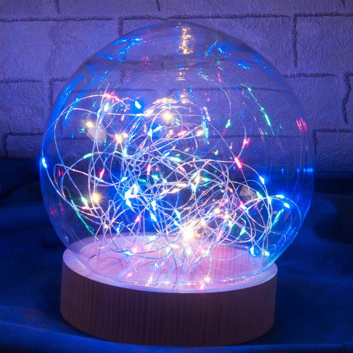 Yılbaşı Dize 100 Led 10m Renkli Işık