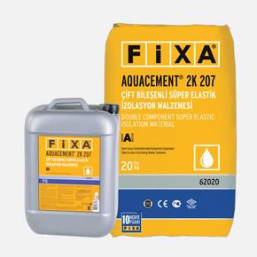 Fixa Aquacement 2K207 Çift Bileşenli Elastik İzolasyon Malzemesi