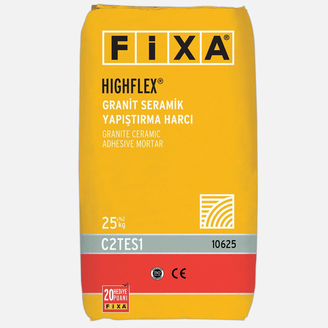 Fixa Highflex Granit Seramik Yapıştırma Harcı