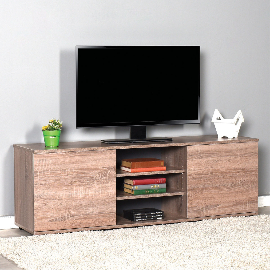 Flat Line Max 2 Kapaklı Tv Sehpası