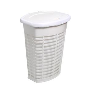 Palm Kirli Çamaşır Sepeti Beyaz