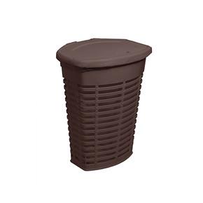 Palm Kirli Çamaşır Sepeti Kahverengi İç Kısım Kahverengi