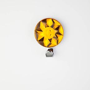 Dekoratif Askı Kristal Sarı