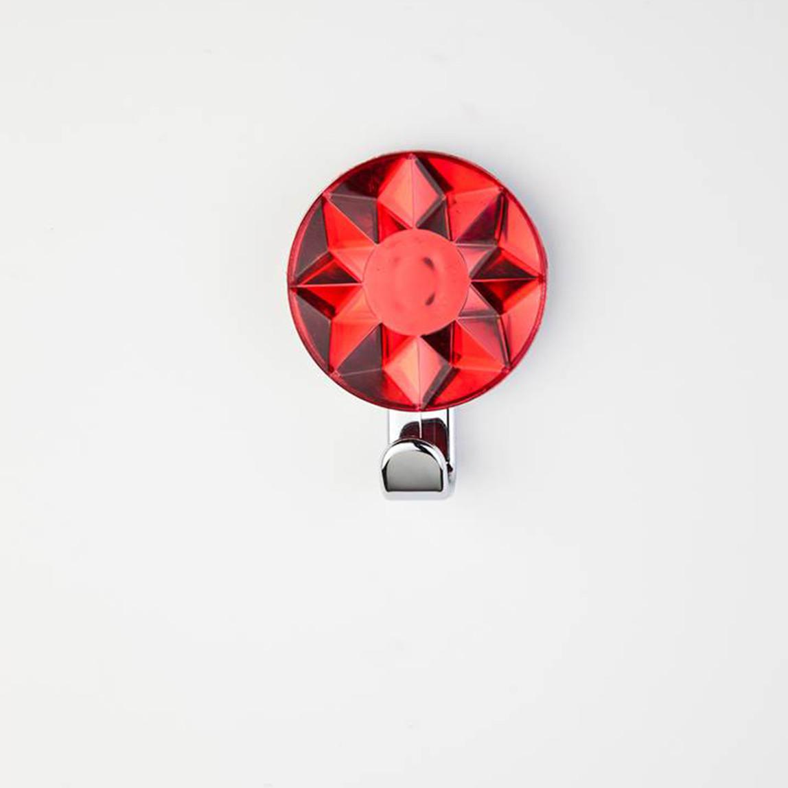 Dekoratif Askı Kristal Kırmızı